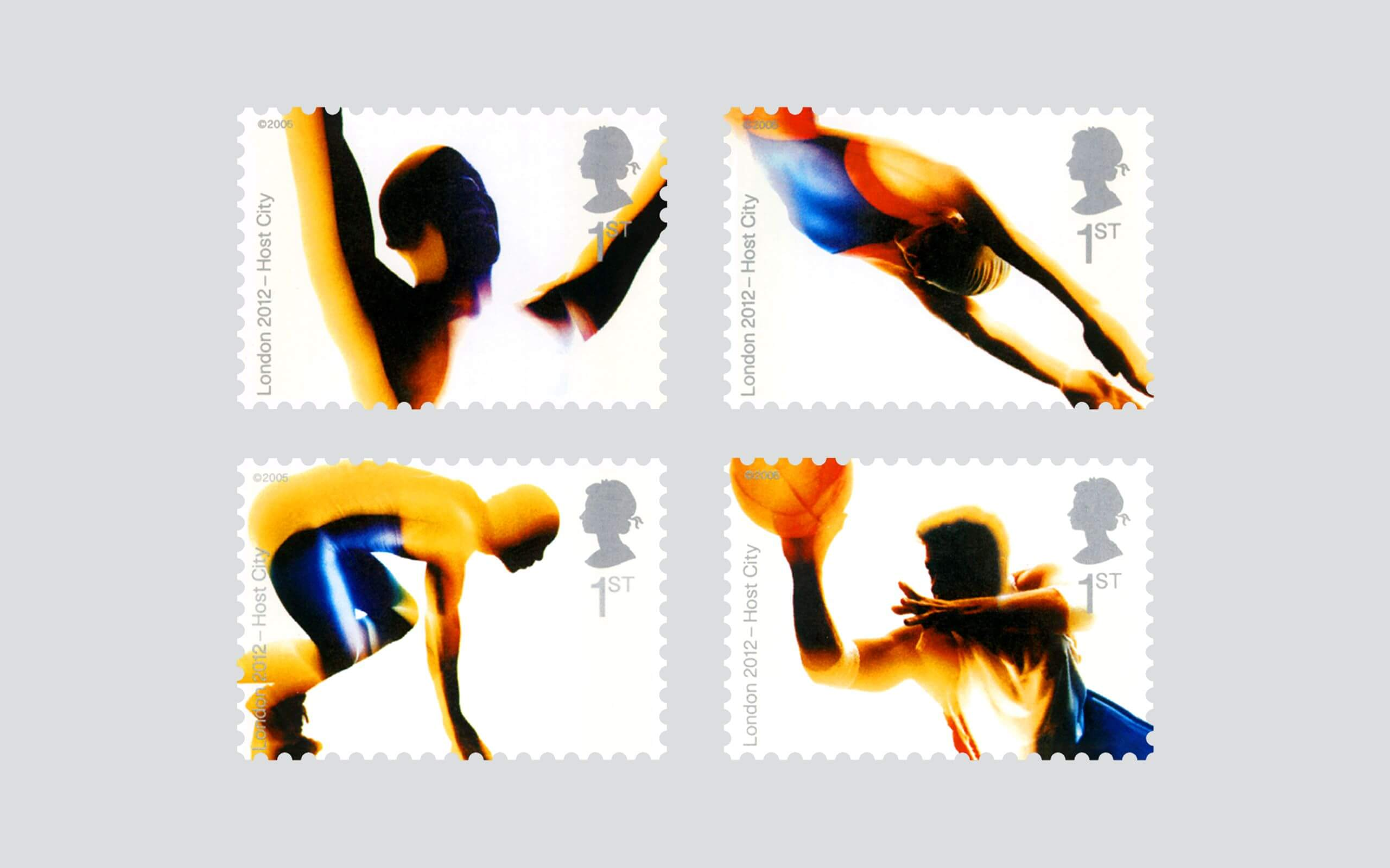 Royal Mail Olympic stamps set