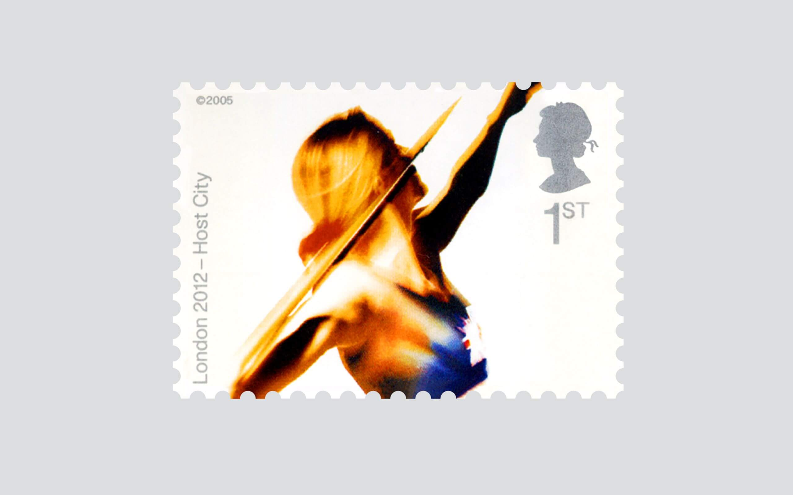 Royal Mail Olympic stamps 2012