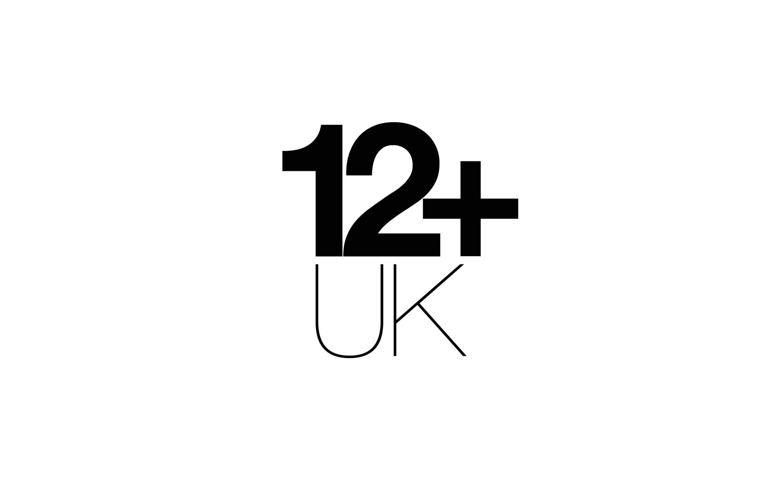 12+ UK model agency logo