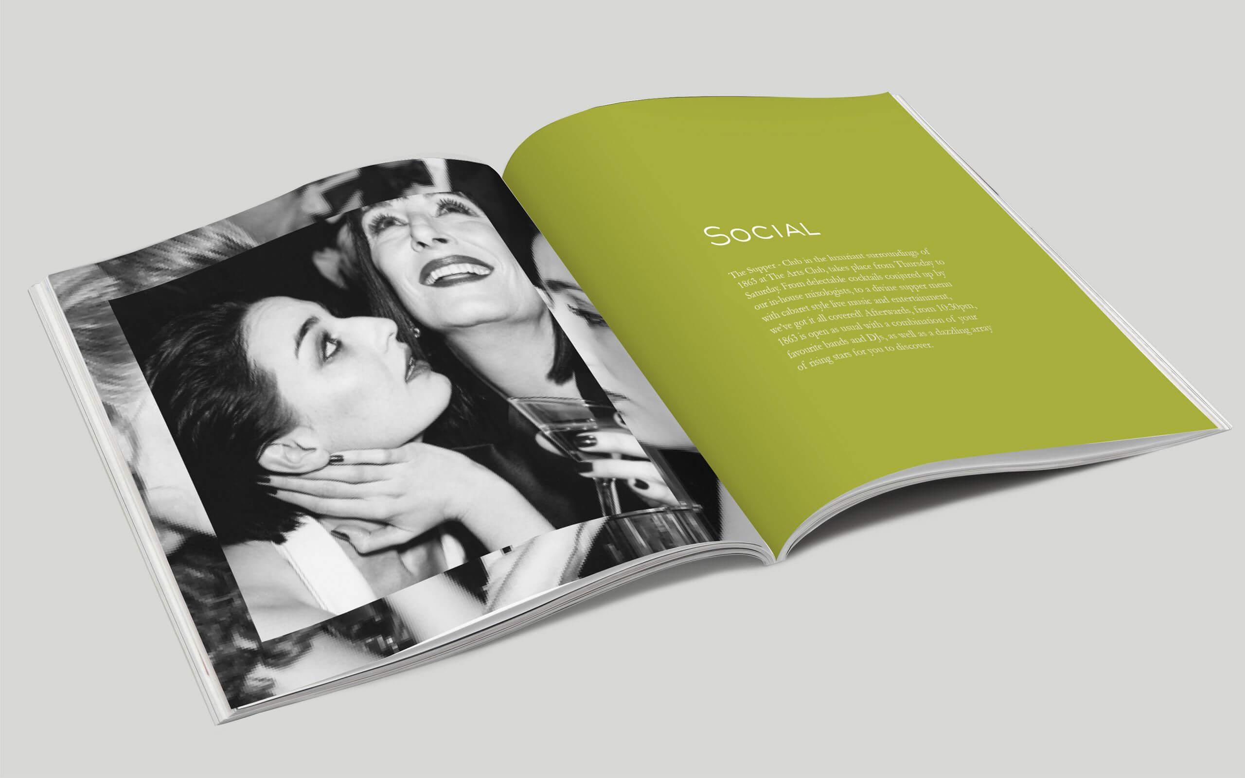 The Arts Club Mayfair London brochures
