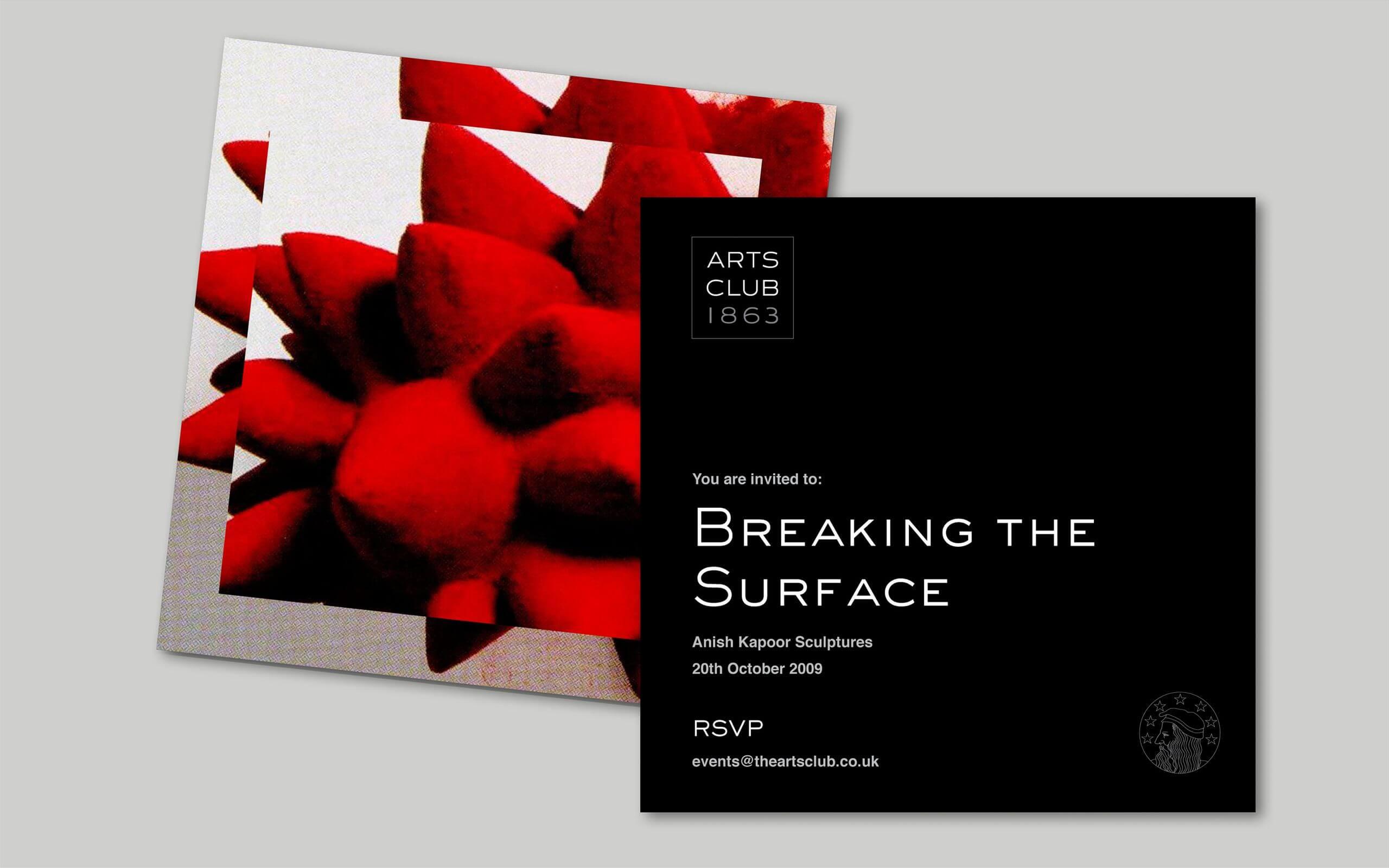 The Arts Club Mayfair London flyers