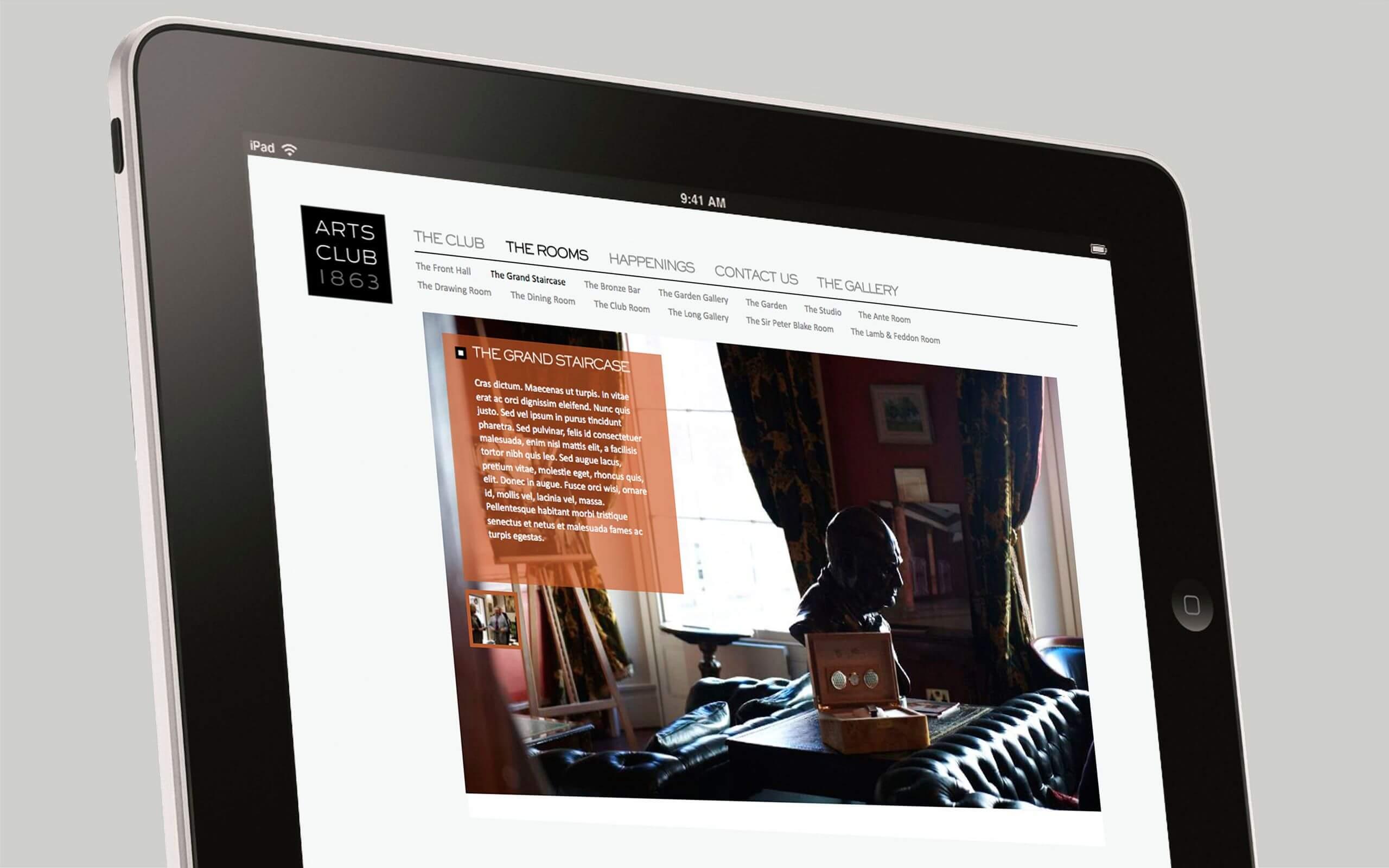 The Arts Club Mayfair London website