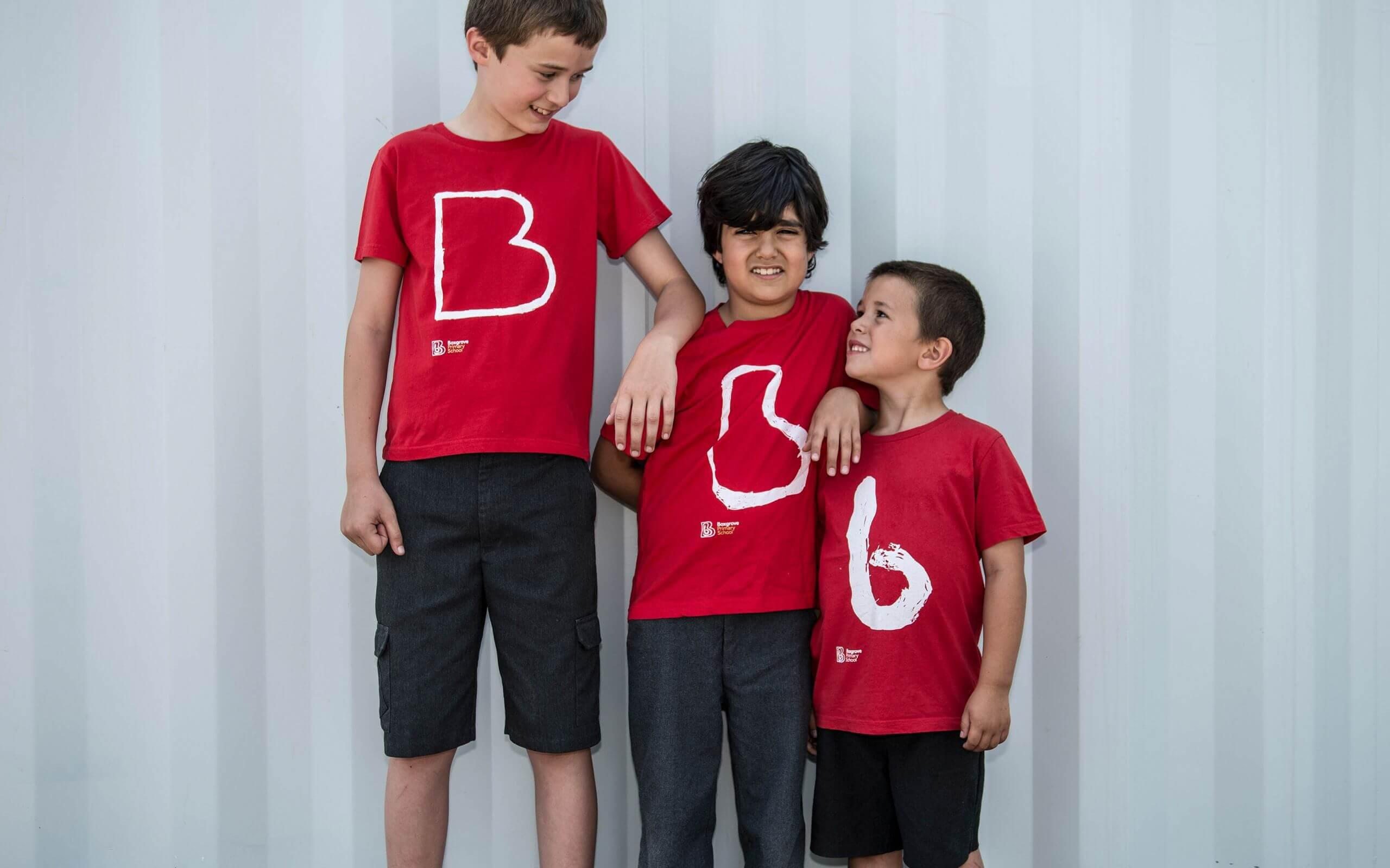 Boxgrove Primary School Guildford B sizes logo