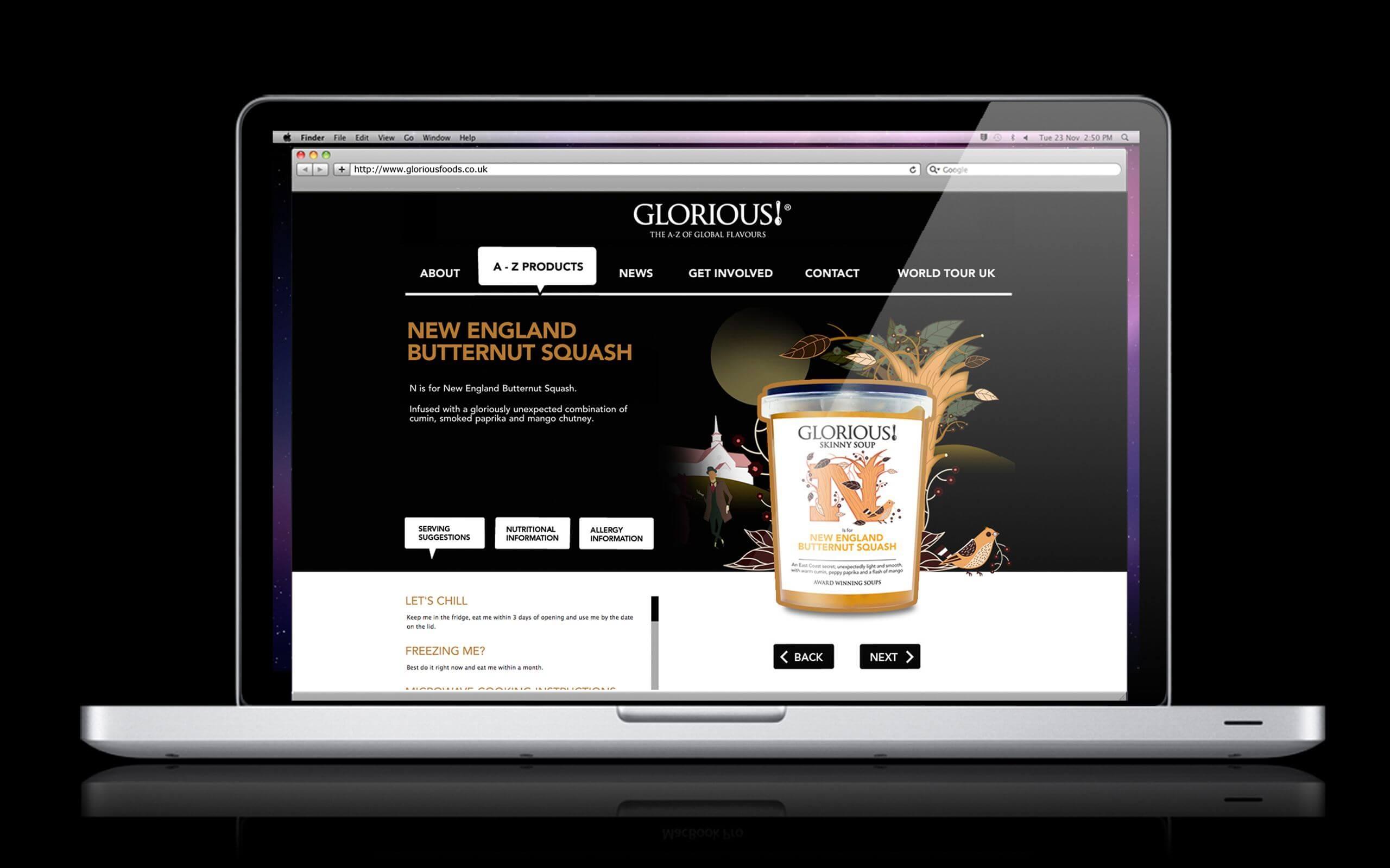 Glorious website