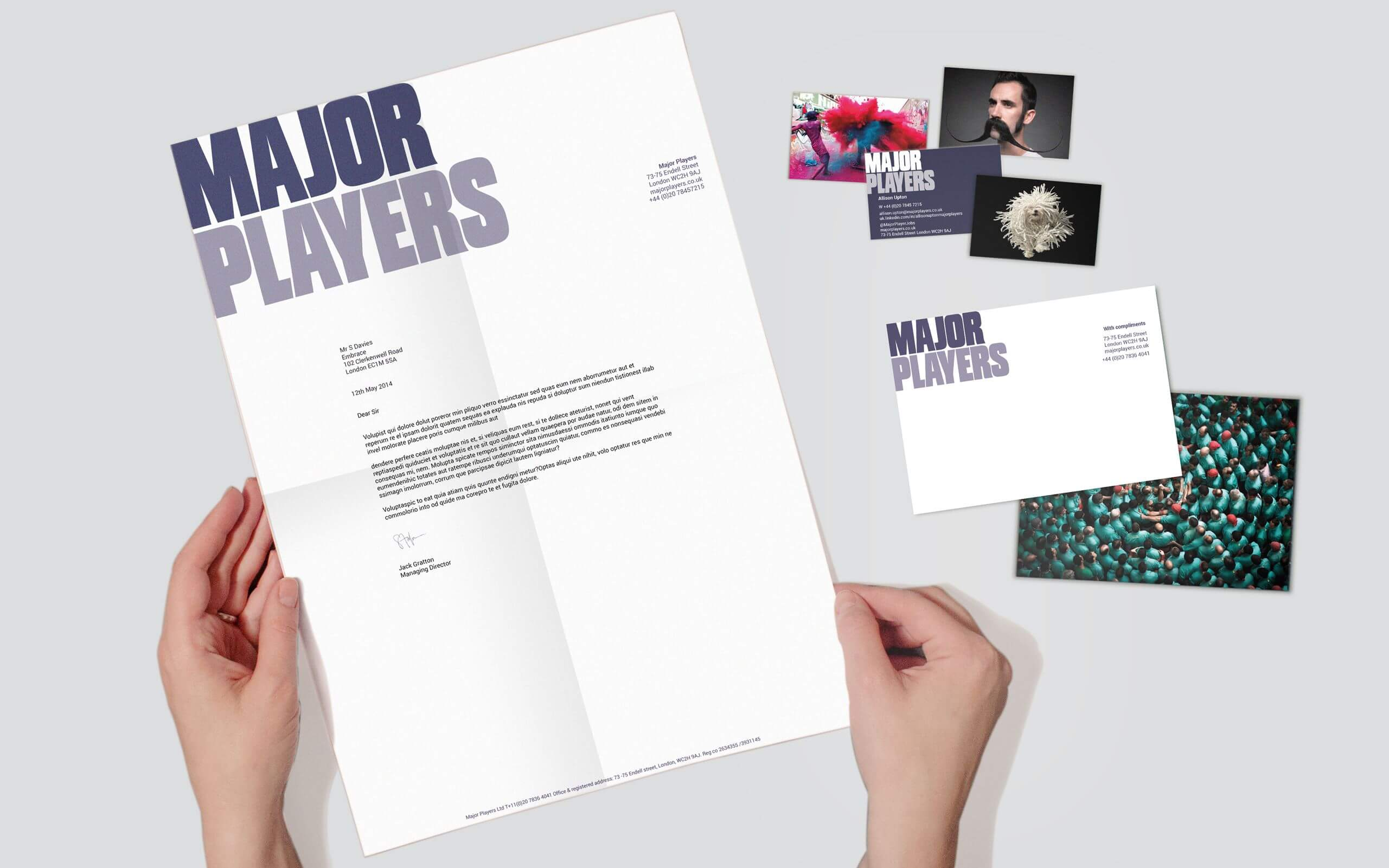 Major Players stationery
