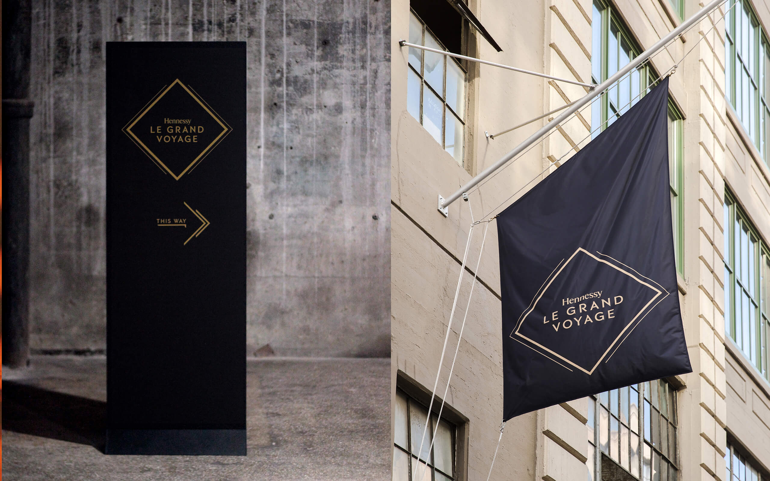 Hennessy flags