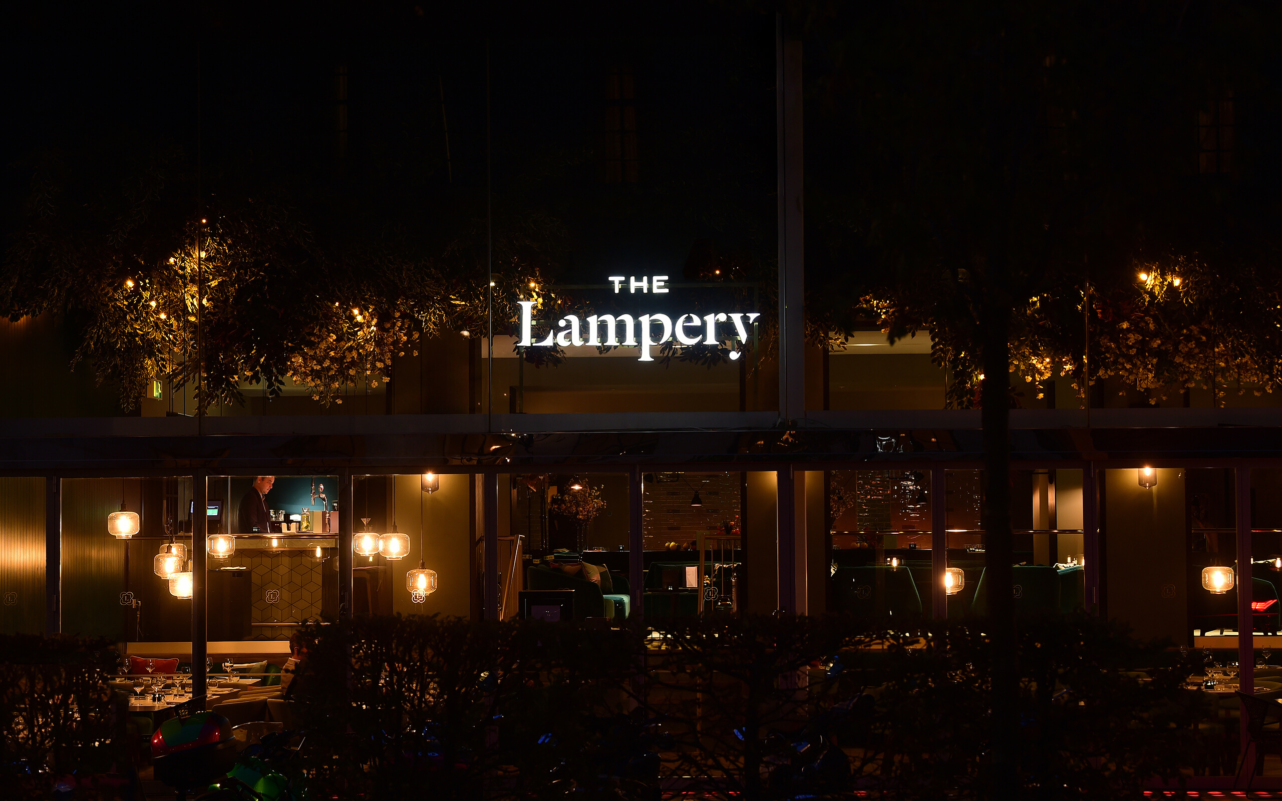 The Lampery signage