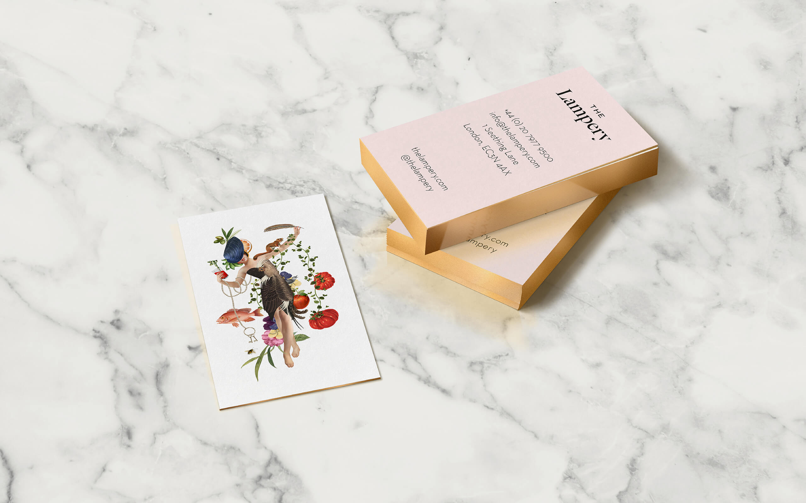 The Lampery business cards