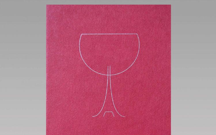 A taste of Paris invite illustration
